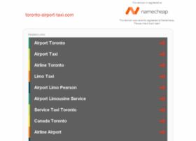 toronto-airport-taxi.com