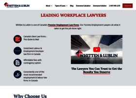 toronto-employmentlawyer.com