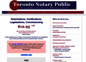 toronto-notary-public.com