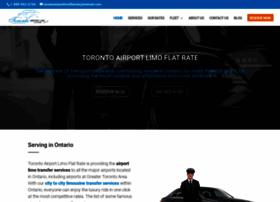 torontoairportlimoflatrate.com
