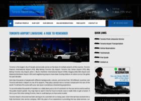 torontoairportlimousine.com