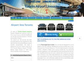 torontoairportslimousine.com