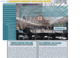 torontoairporttaxirates.ca