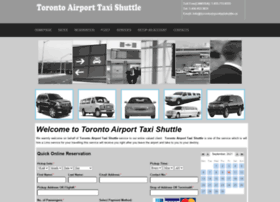 torontoairporttaxishuttle.com
