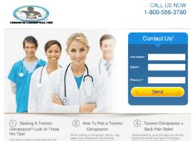 torontochiropractor.copious-solutions.com