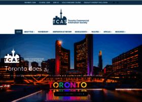 torontocommercialarbitrationsociety.com
