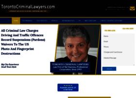 torontocriminallawyers.com