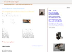 torontoelectricrepairs.blogspot.ca