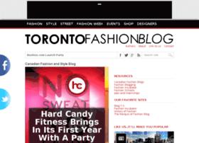 torontofashionblog.ca
