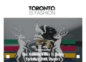 torontoisfashion.com
