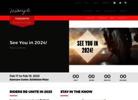 torontomotorcycleshow.ca