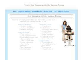 torontoonsitemassage.com