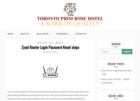torontoprimrosehotel.com