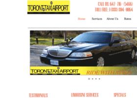 torontotaxiairport.ca