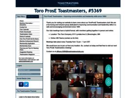toroprose.toastmastersclubs.org