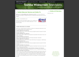 toshibatvs.widescreentelevisions.co.uk