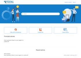 totalcalibration.zendesk.com