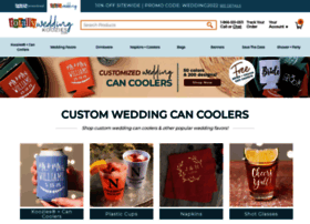 totallyweddingkoozies.com