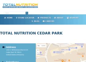 totalnutritionaustin.com