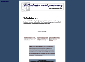 totheletter.ca