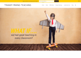 totransformteaching.org