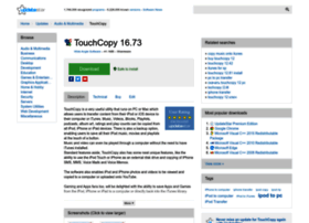 touchcopy.updatestar.com