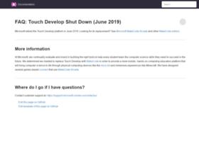 touchdevelop.com