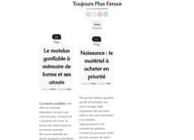 toujoursplusferoce.com