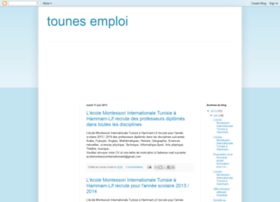 tounes-emploi.blogspot.com