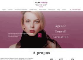 toupiemakeup.com