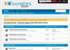 tourettesforum.com