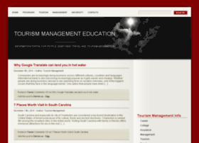 tourismmanagement.info