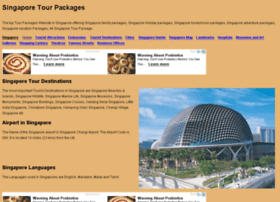 tourpackagessingapore.com
