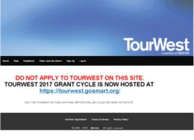 tourwest.culturegrants.org