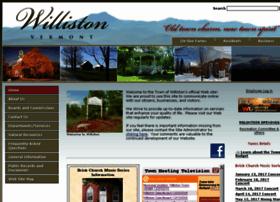 town.williston.vt.us