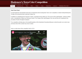 towncriercompetition.co.uk