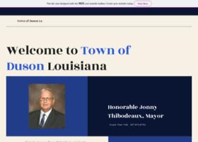 townofduson.com