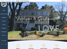 townofgordonsville.org