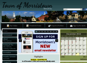 townofmorristown.org