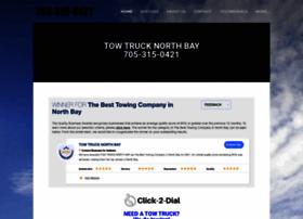 towtrucknorthbay.com