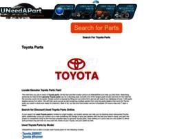 toyota-parts.uneedapart.com