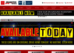 toyotaarlington.com