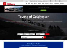 toyotaofcolchester.com