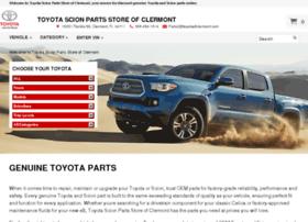 Toyotascionpartsstore.com