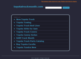 toyotatruckmonth.com