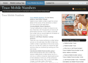 tracemobilenumbers.com