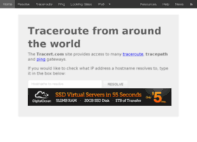 tracert.com
