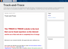 track-and-trace.blogspot.com