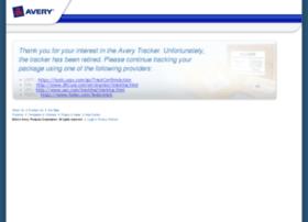 tracker.avery.com