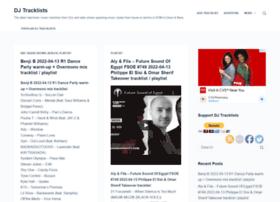 tracklists.thomaslaupstad.com